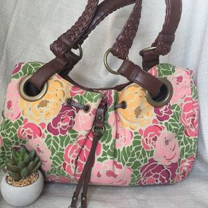 Relic Floral Canvas Shoulder Bag